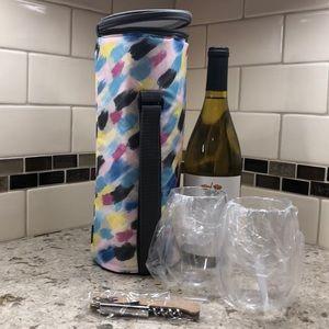 Wine cooler bag set